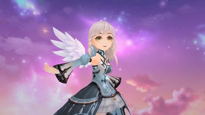 戴上雪白x粉蓝小天使翅膀一起在白日梦里飞翔吧