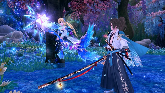 The Classes of Aura Kingdom  Anime MMORPG
